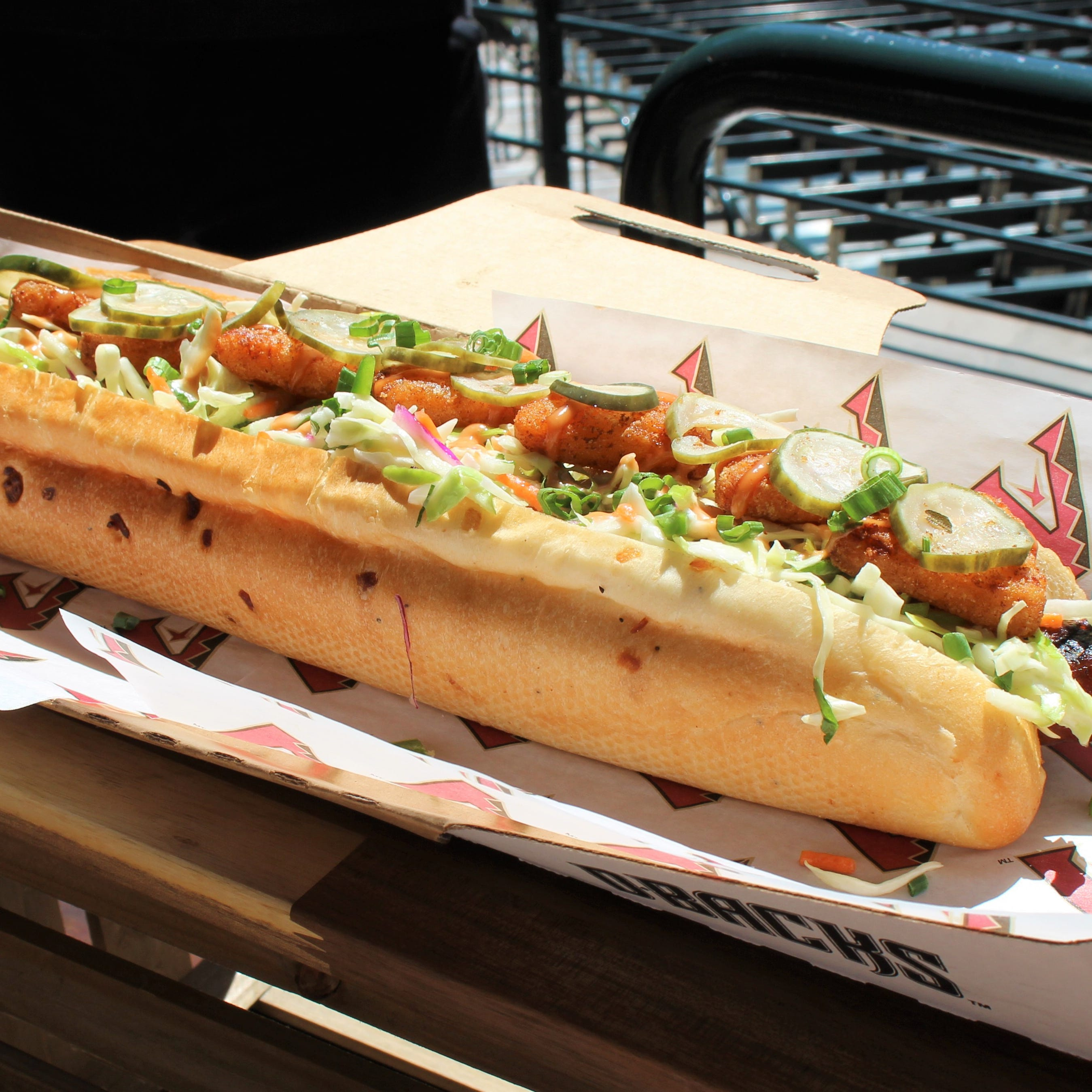 Move over, Churro Dog. Here are 11 new foods to try during Arizona Diamondbacks games