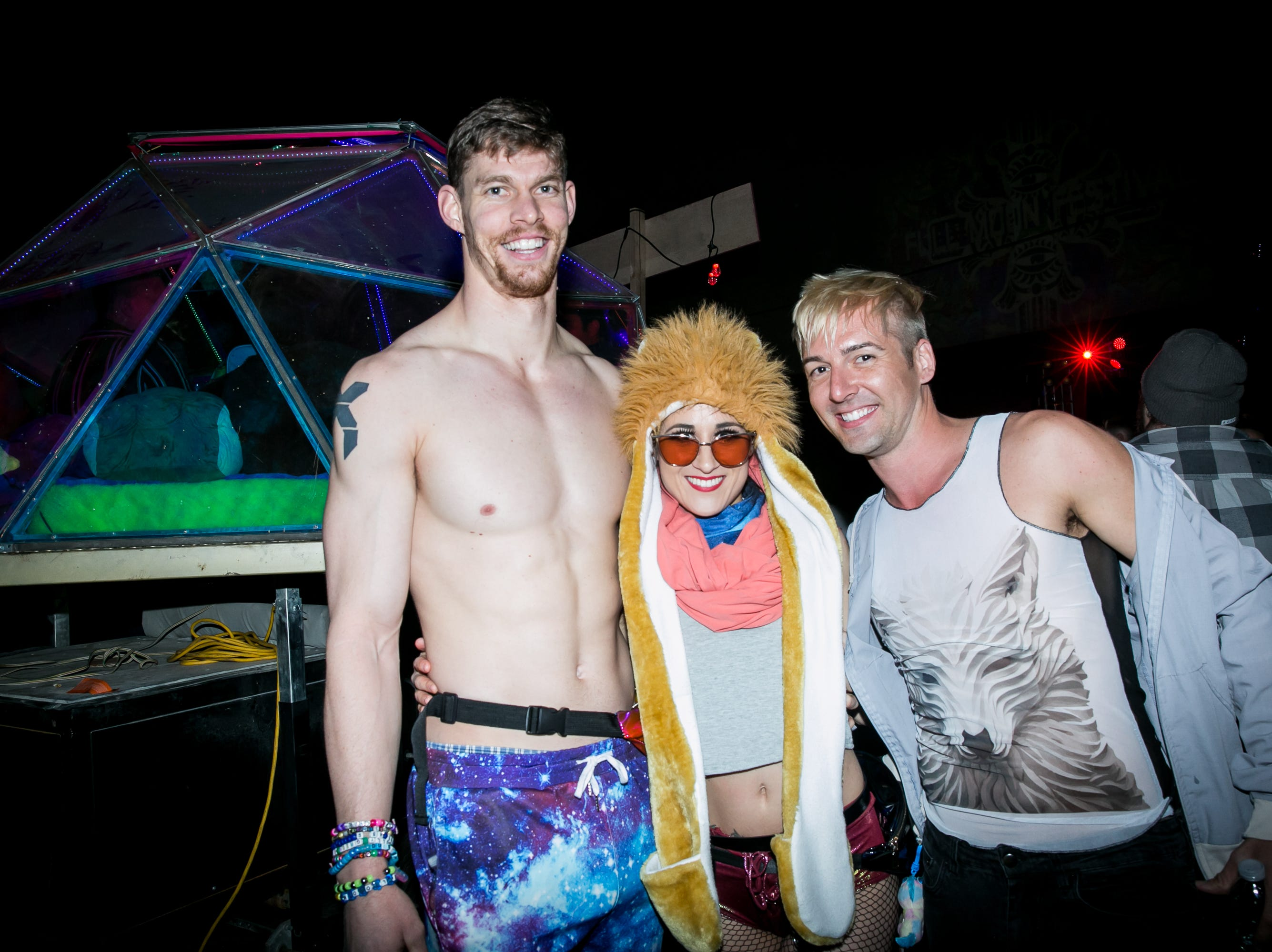 This group had a blast at the Full Moon Festival at the Pressroom on March 23, 2019.