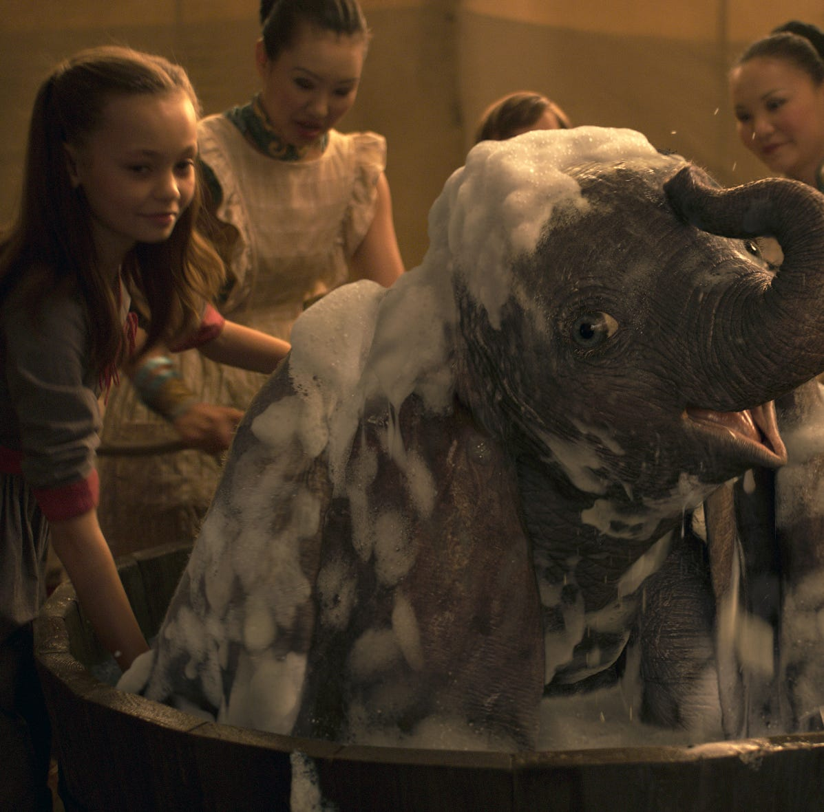 'Dumbo' doesn't quite soar this time around