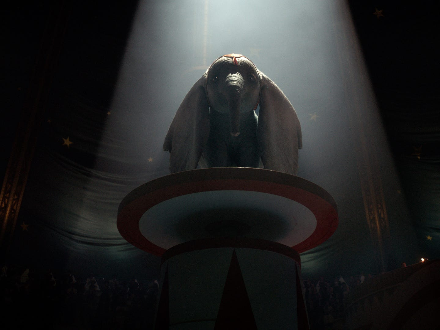 "Dumbo comes to life in ""Dumbo,"" a live-action version of the 1941 animated classic."