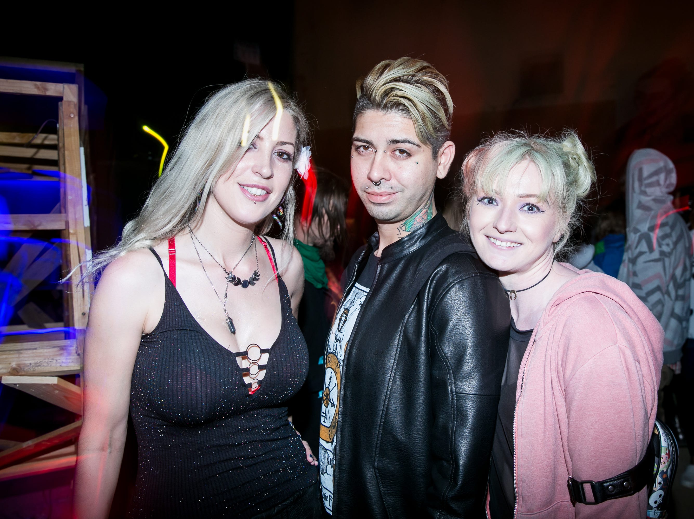 Great times were had at the Full Moon Festival at the Pressroom on March 23, 2019.