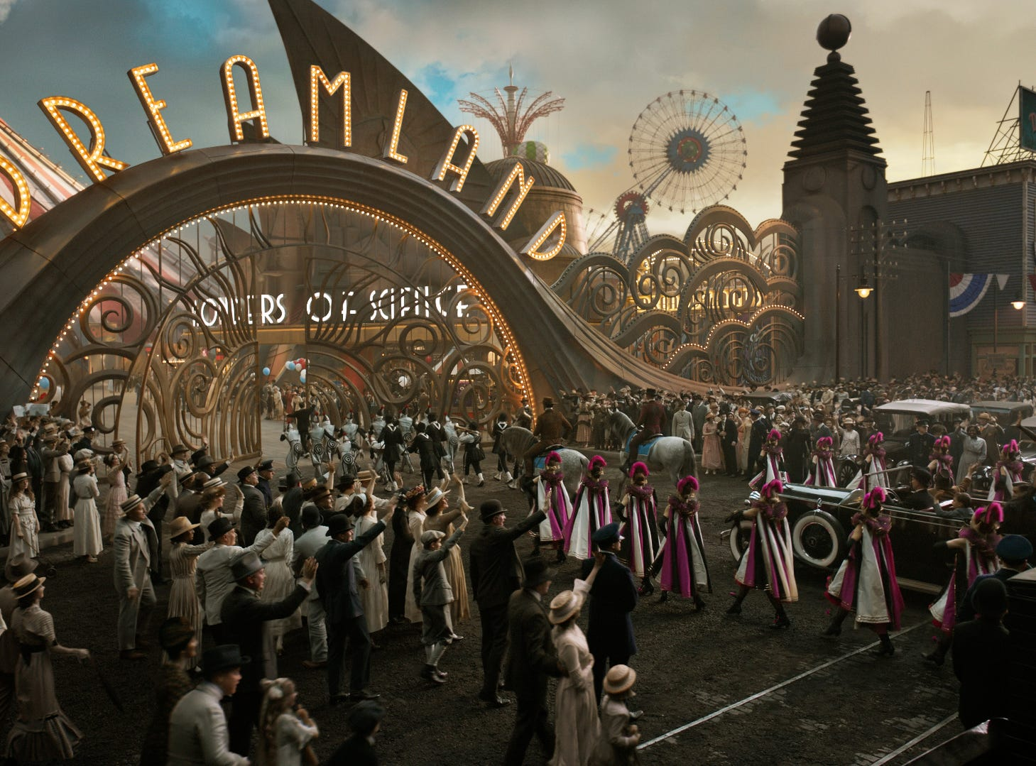 "Dreamland could be wind up being the new home for the title character in ""Dumbo."""