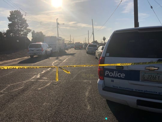 Police were on scene near 27th Avenue and Pima Street in Phoenix where they said they found evidence of illegal cock fighting.
