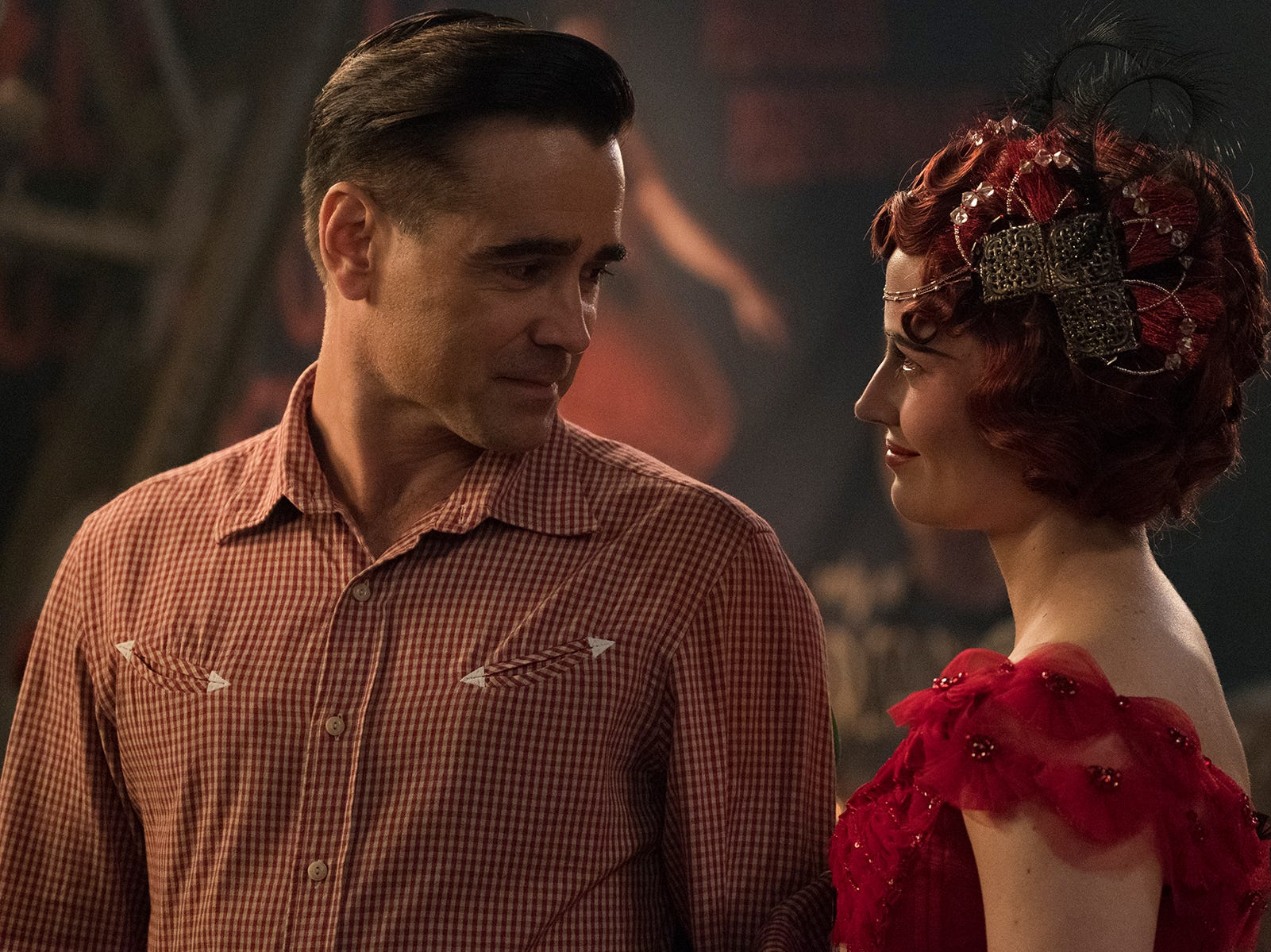 "Colin Farrell and Eva Green star in ""Dumbo."""