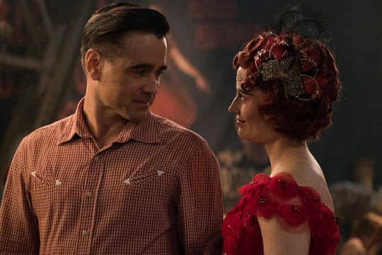 "Colin Farrell and Eva Green star in ""Dumbo."""