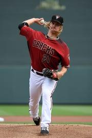 Zack Greinke, lanzador estrella de los D-backs.