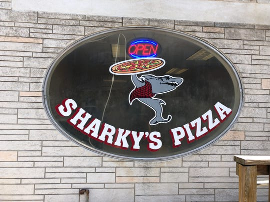 "Sharky's Pizza at 118 S. Eighth St. in Lebanon may not have invented the loaded baked potatoes, but they put their own unique spin on them with the ""Baked Potato Island"" section of the menu."