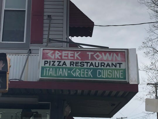 Greektown Pizza at 544 Walnut St. in Lebanon is the originator of the baked potato creations that take up residence in two downtown restaurants.