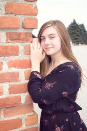 Abbey Bullis is the recipient of a $1,000 scholarship from the Michigan High School Athletic Association.