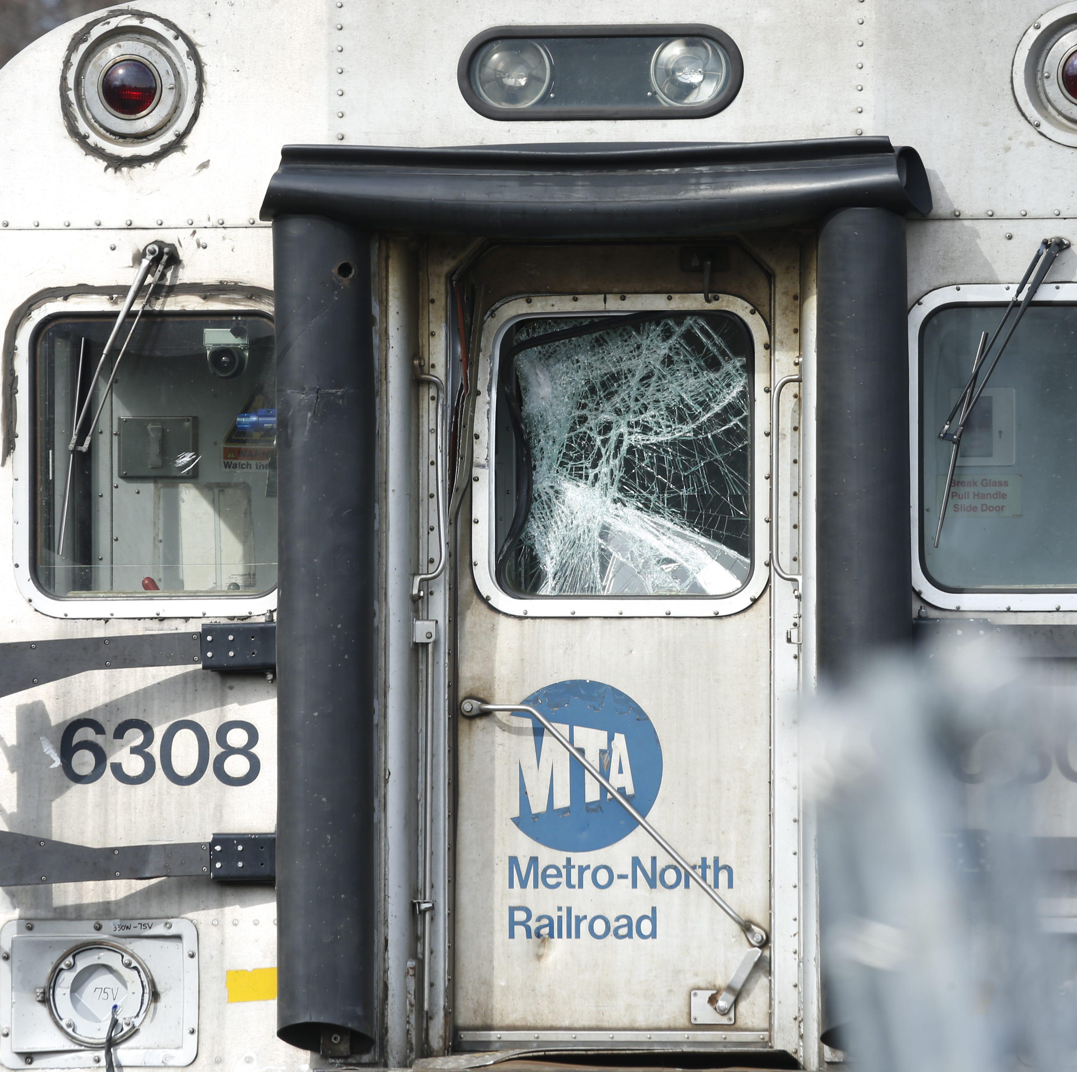 Harlem Line train struck trailer in Pawling, one injured: MTA