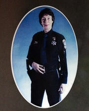 Carolyn Jean Carlon is pictured in uniform.