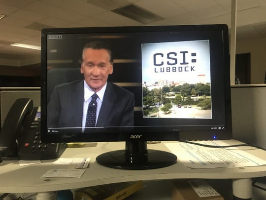 Political commentator Bill Maher used a photo for San Angelo when mocking Lubbock on Feb. 22, 2019.