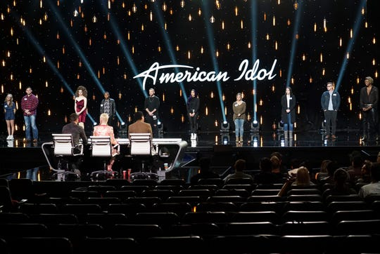 "Louisiana singer Tyler Mitchell awaits ruling from celebrity judges during Hollywood Week on ""American Idol."""