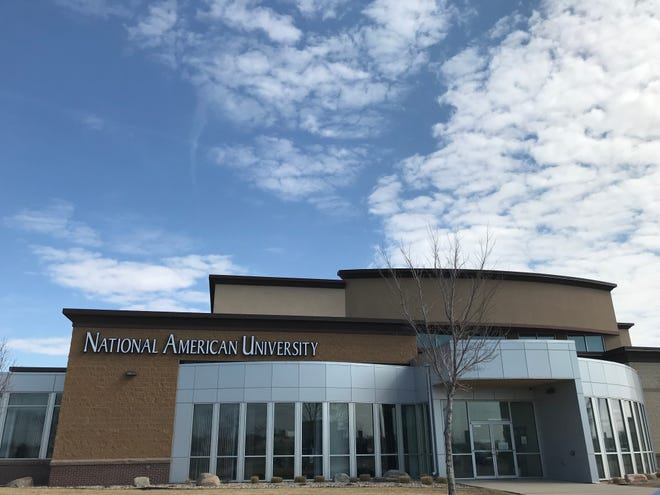 National American University's Sioux Falls location at 5801 S. Corporate Place.