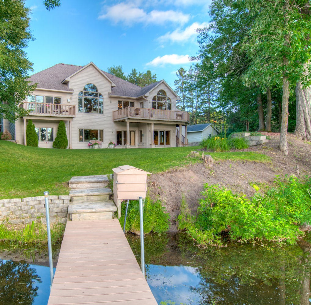 Mansion on the market: Beautiful architecture on Orono Lake