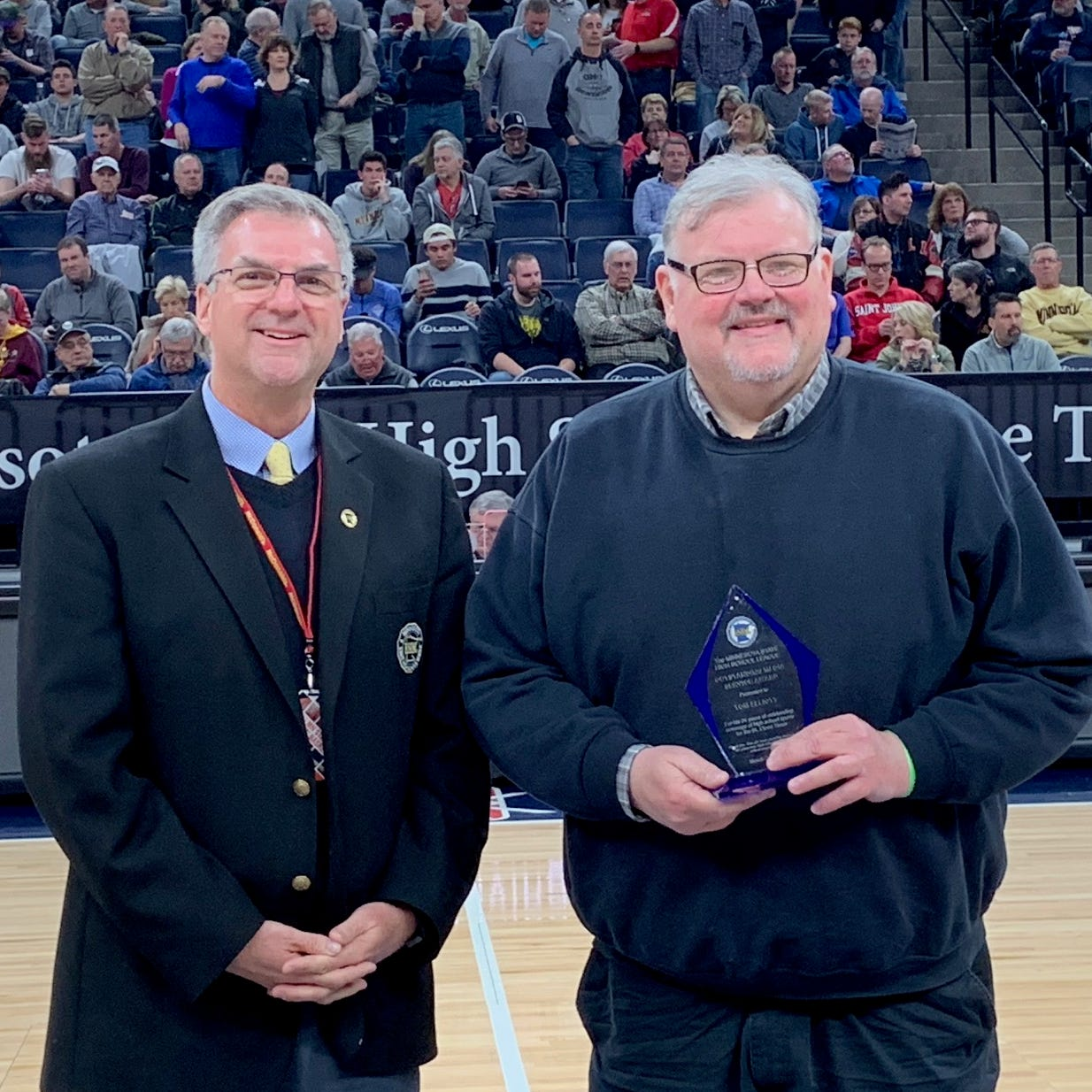 St. Cloud Times' Tom Elliott earns statewide honor for prep coverage