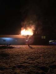 A house on Prairie Grass Drive caught fire early Saturday morning.