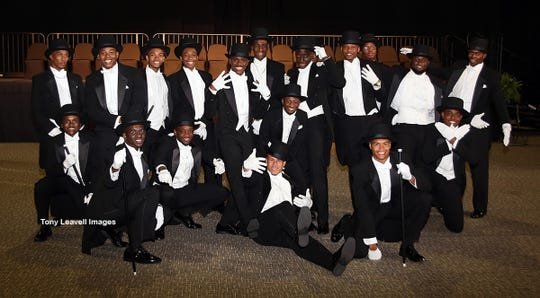 19 Links Beautillion Beaux present a contemporary dance routine during their Formal Presentation.