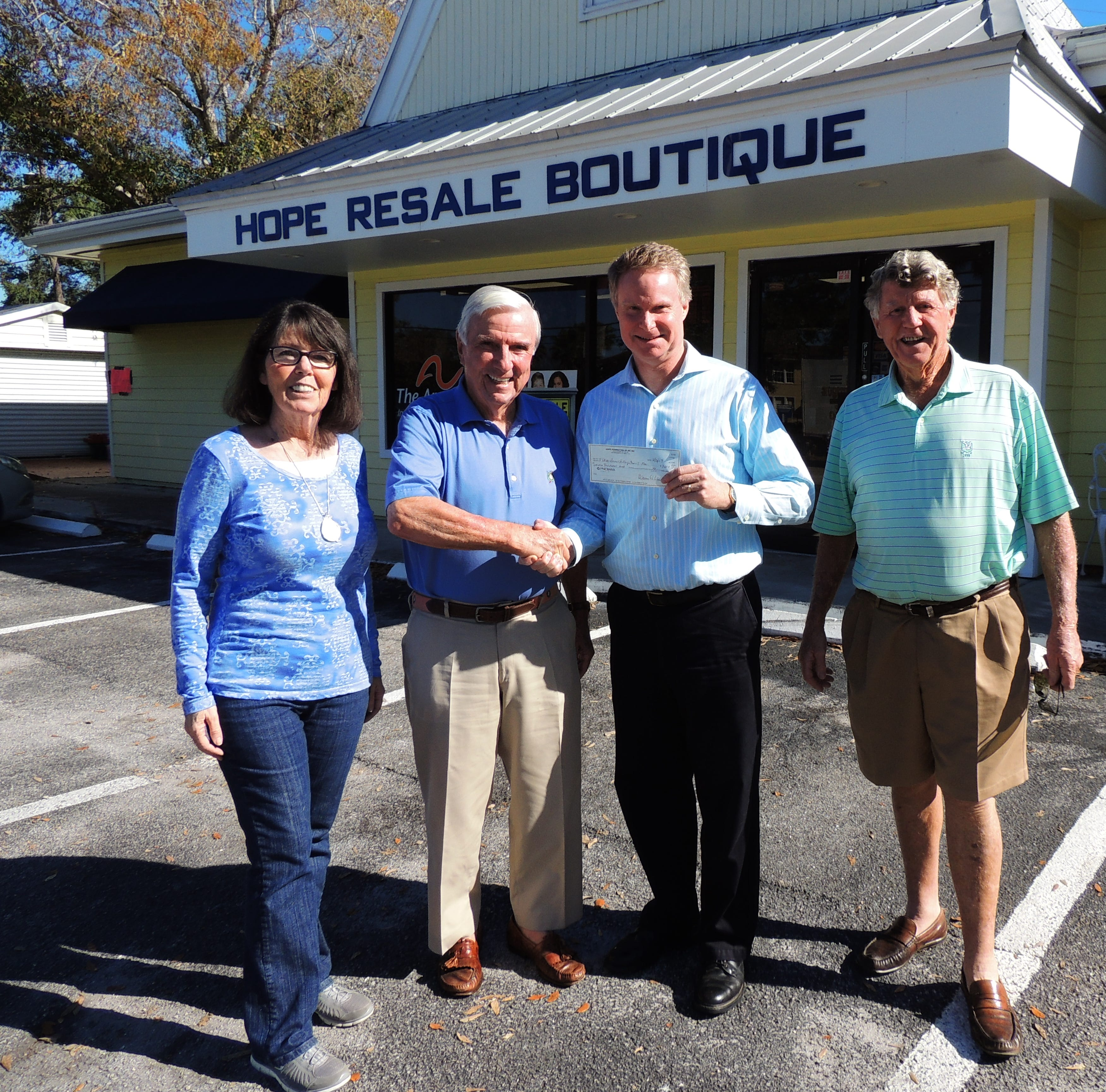 Hope Resale Boutique partners with Rotary clubs in Indian River County