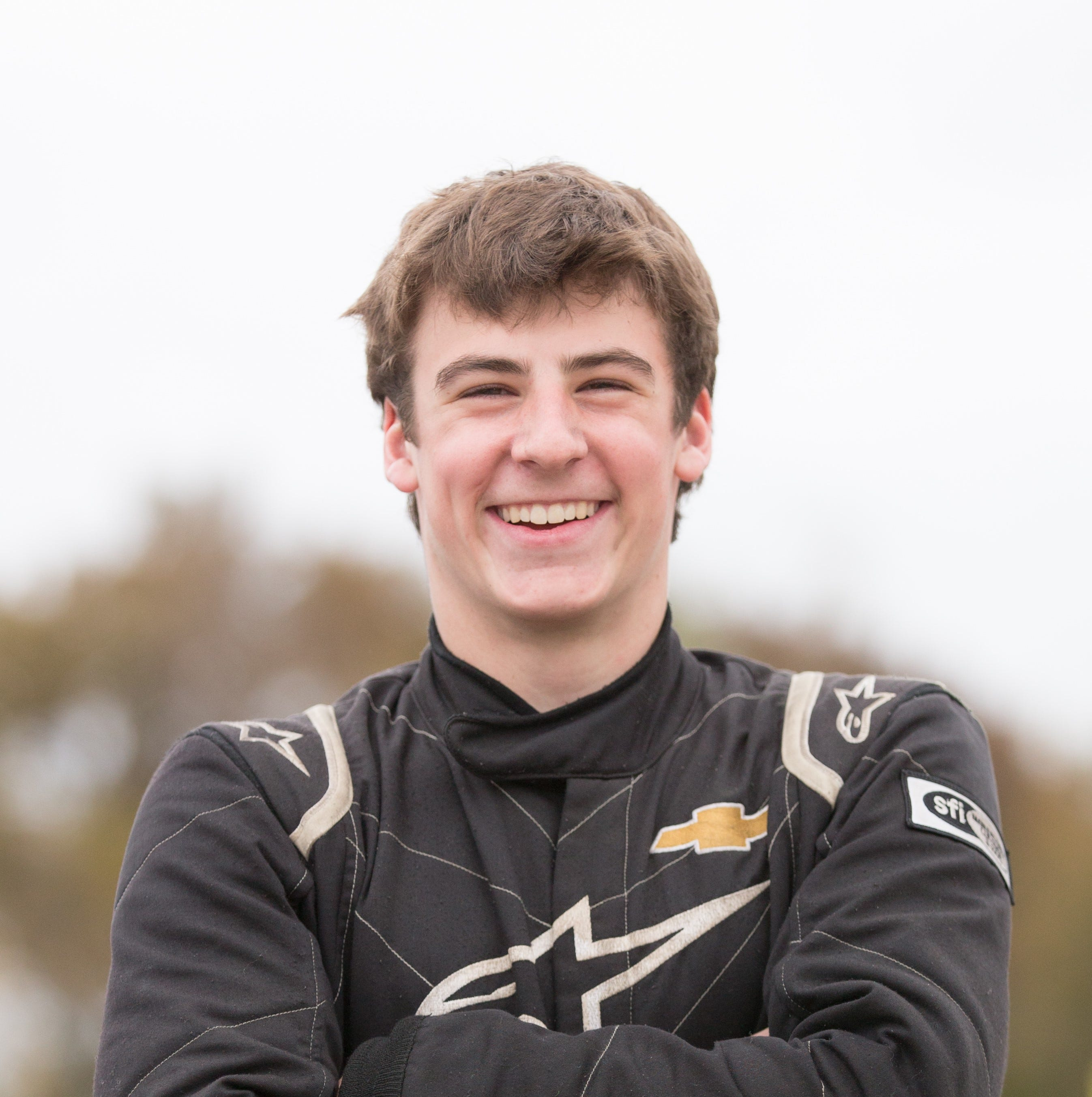He's a stock car champion at 14. Now Luke Fenhaus drives toward the $54,000 Kulwicki Cup