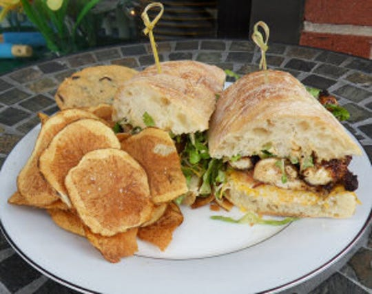 Sandwiches and hand-cut, homemade potato chips are on the menu at AJ's Kitchen in Pearl River.