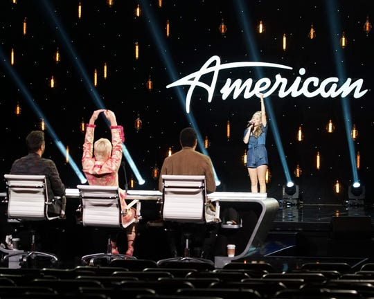"Tower Hill School graduate Margie Mays performed on ""American Idol"" Sunday night."