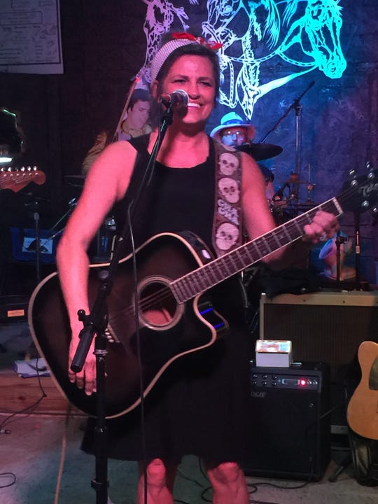 Lead singer and rhythm guitarist Shasta Shaw of the Ranchrockers who will perform from 4 to 6 p.m. at Stick's Place.