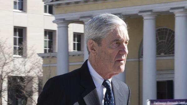 Special counselRobert Mueller on March 24, 2019,...