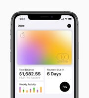 Apple Card holders can use the Wallet app on their iPhone to monitor weekly and monthly spending and see how long it will take to pay off a credit card balance based on different payment amounts.