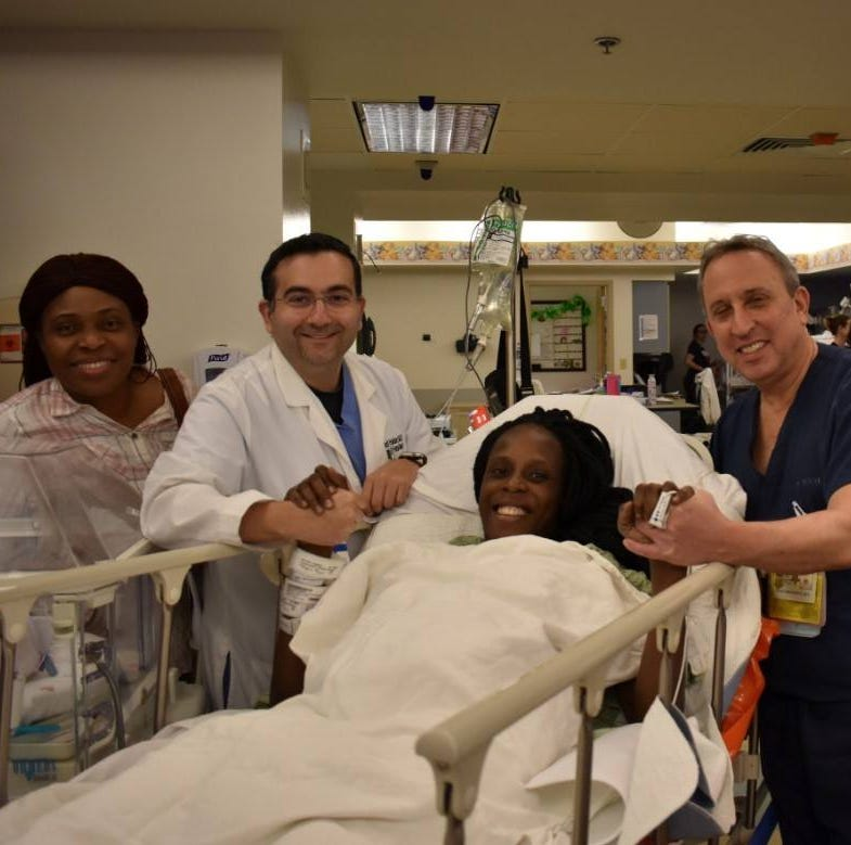 A Texas woman gave birth to sextuplets,  within nine minutes of each other.