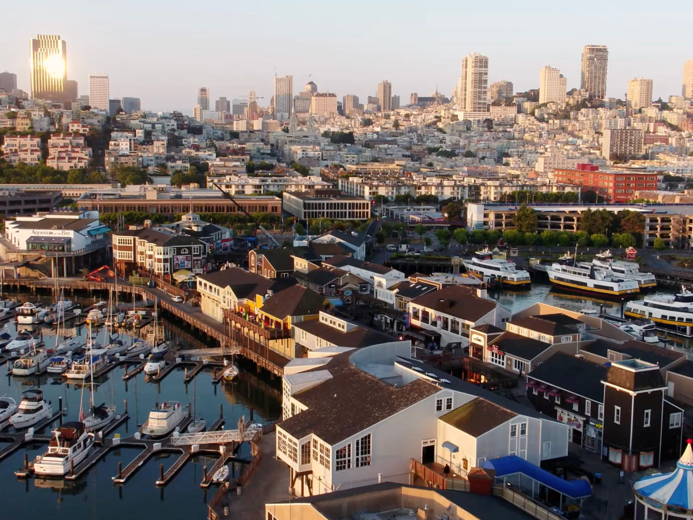 It's a unique and entertaining way to explore places like Coit Tower on Telegraph Hill, the Castro and Alcatraz while also enjoying some mild thrills.