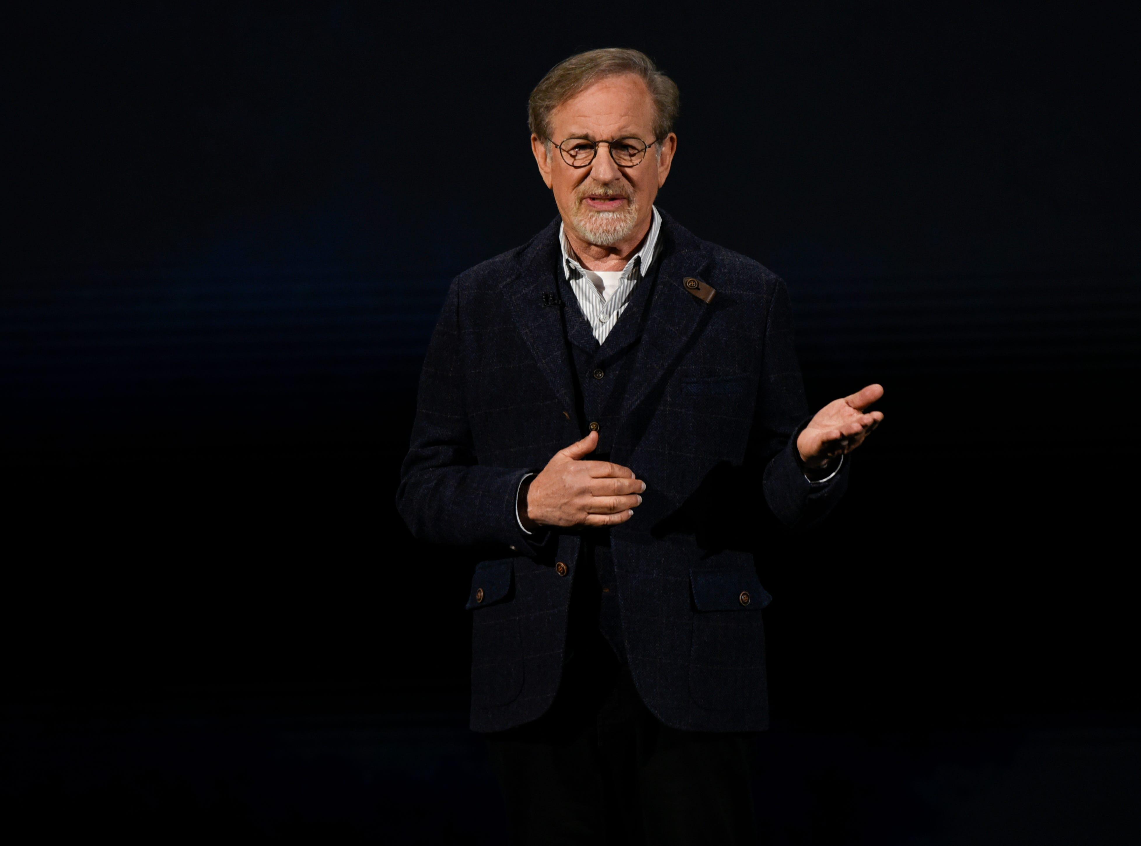 Filmmaker Steven Spielberg.