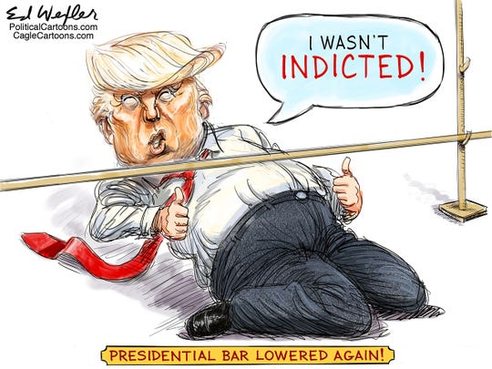 Trump not indicted