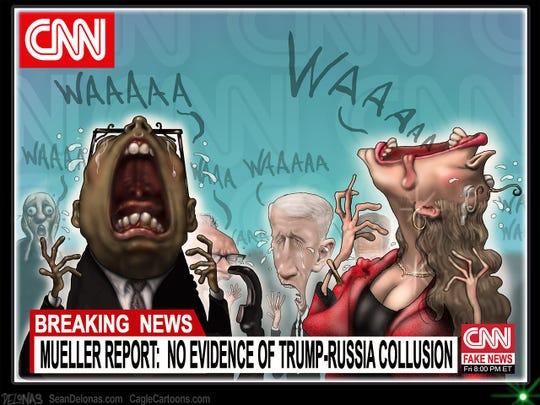 Mueller report and CNN