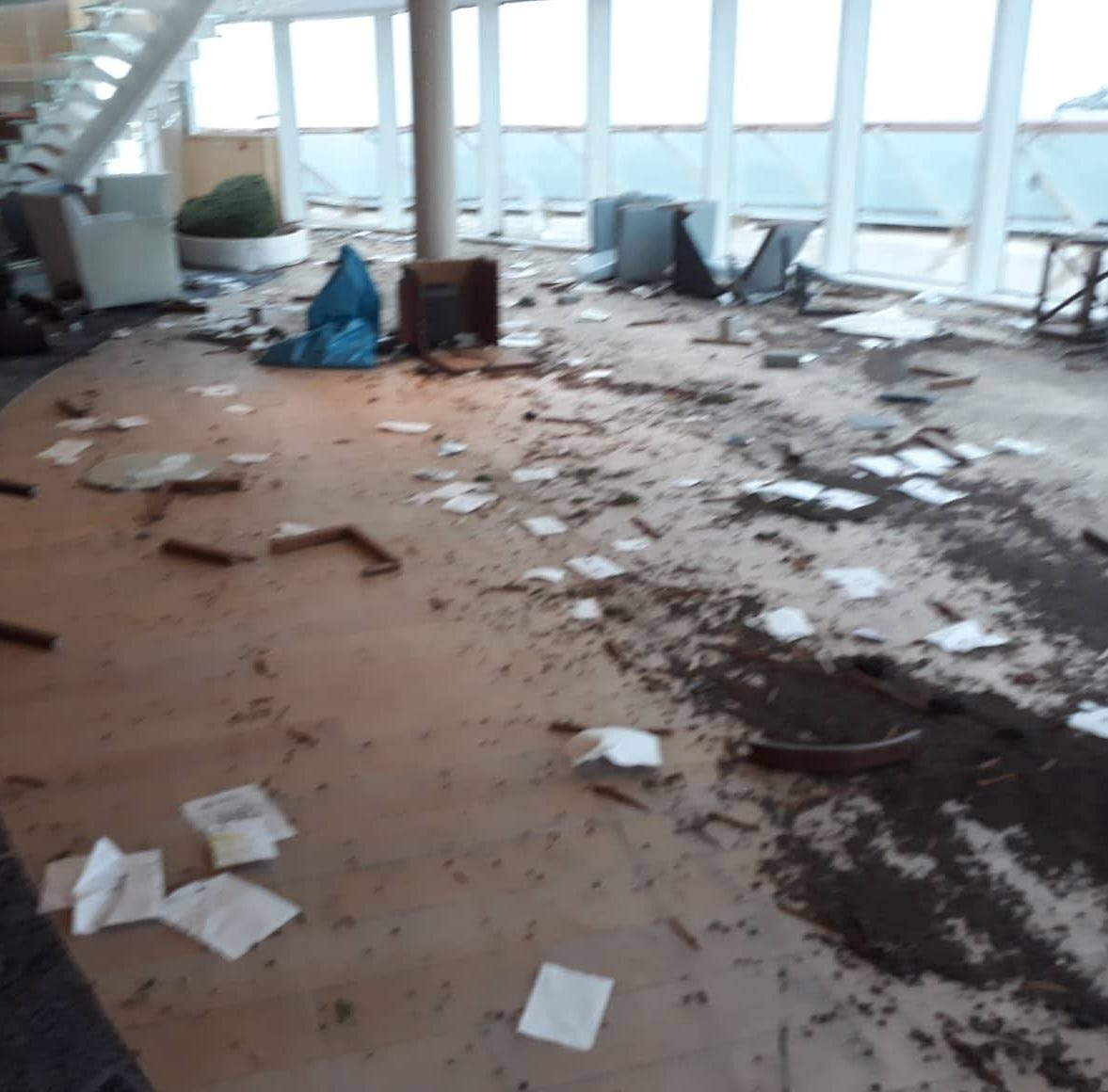 Exclusive: Crew member recounts what happened on stranded, storm-tossed Viking Sky cruise ship