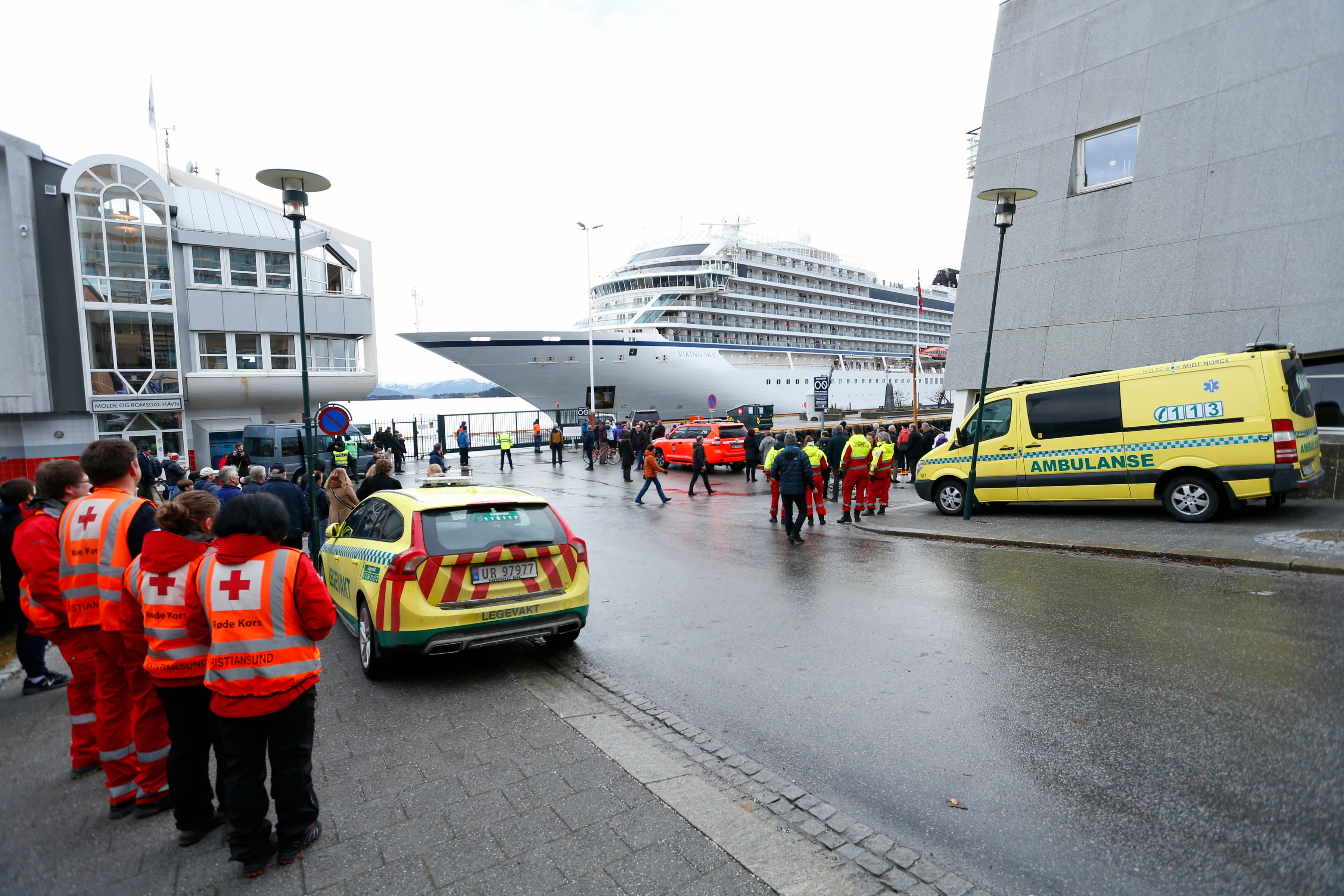Norway wants to know why cruise ship sailed in stormy weather, forcing air evacuation