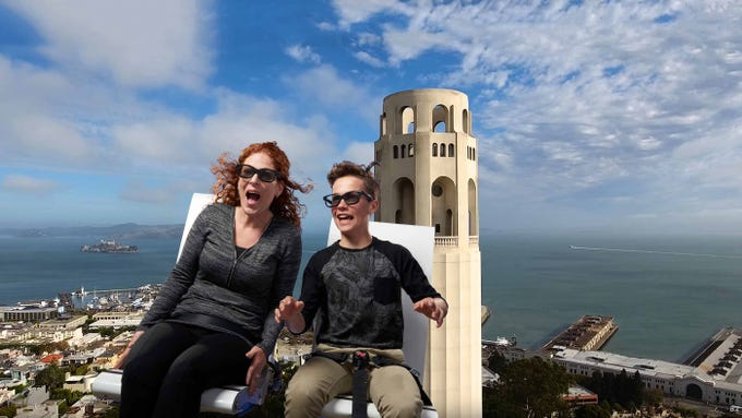 New flying theater ride offers a bird's-eye view of San Francisco