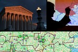 Supreme court case on partisan redistricting, using 'packing' and 'cracking' to draw district lines. Blake Esselstyn explains how that works.