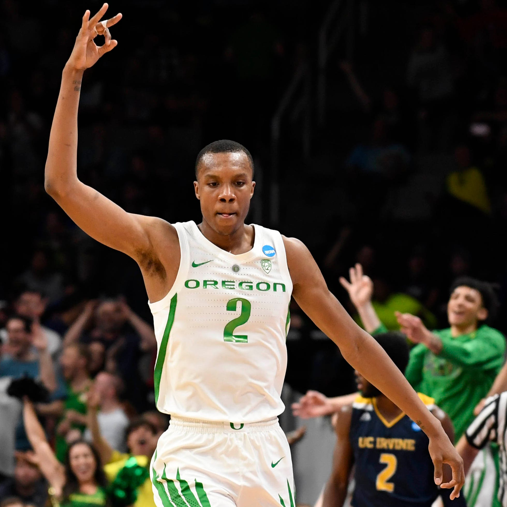UC Irvine baited Oregon's Louis King by calling him 'Queen' during NCAA tournament game