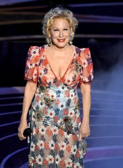 Bette Midler performs at the Academy Awards on Feb. 24, 2019.