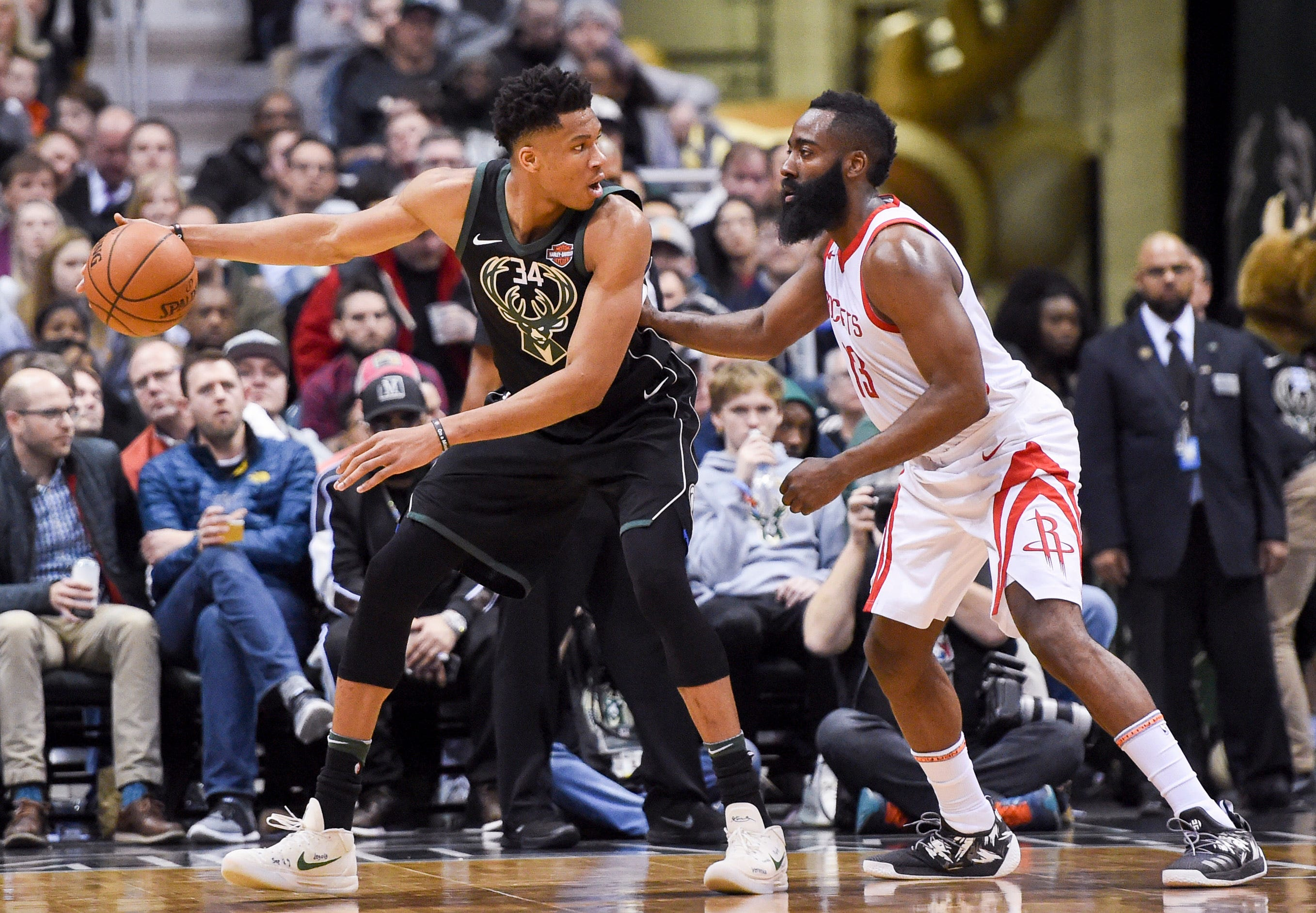 Giannis Antetokounmpo or James Harden? NBA MVP race is far from decided