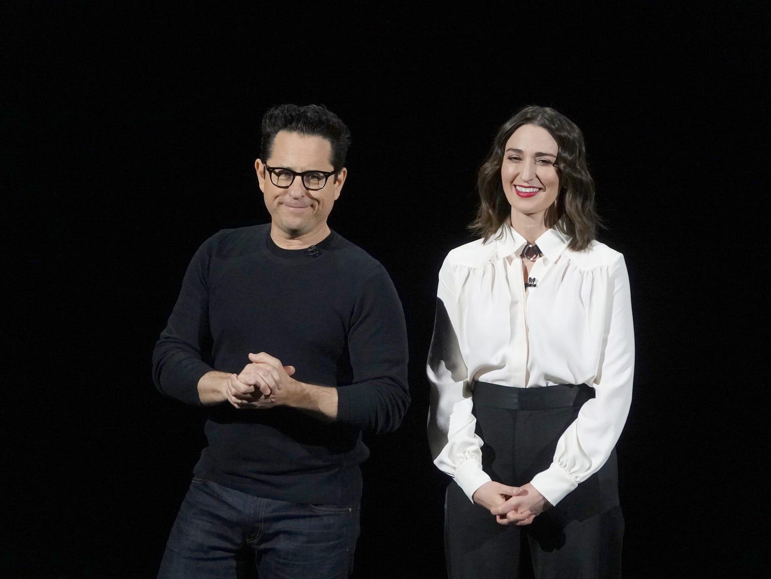 JJ Abrams and Sara Bareilles.