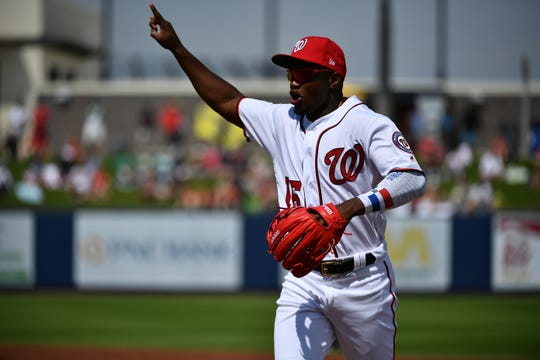 After overcoming an elbow injury last season, Victor Robles is poised to take over the everyday center fielder role with the Washington Nationals.