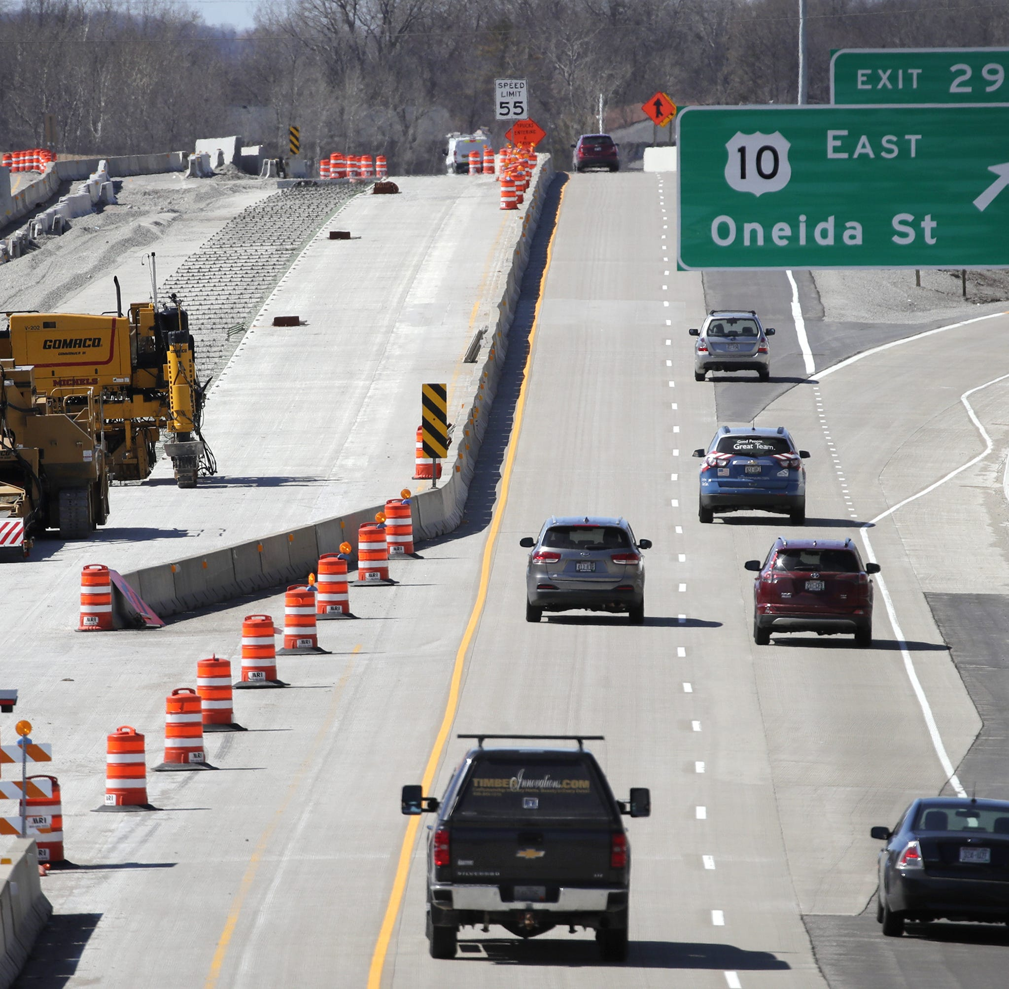 'We're in the home stretch': After years of work, end of State 441 construction in sight