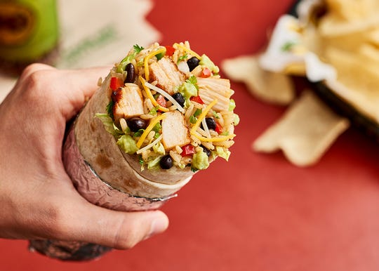 Moe's Homewrecker Burrito.