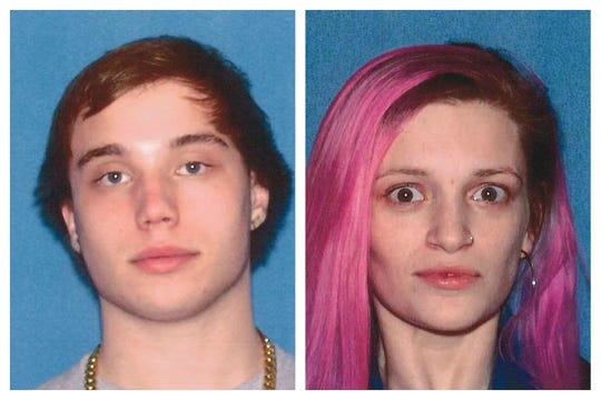 New Jersey driver's license photos of Zachary Lockwood, 20, of Toms River, and Brittany Serovinski, 21, of Brick.