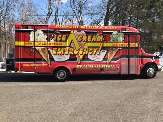 Ice Cream Emergency!, a mobile ice cream parlor, hit the streets of New Jersey last month.