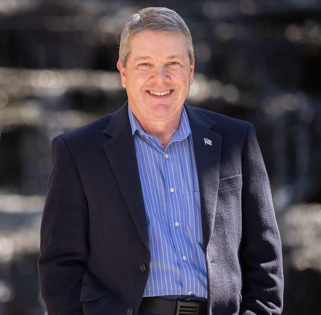 Steve Woodsmall, Democrat, of Pisgah Forest
