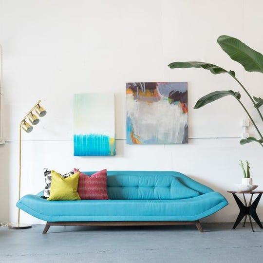 Super Midcentury Modern Furniture Stores In Asheville Squirreltailoven Fun Painted Chair Ideas Images Squirreltailovenorg