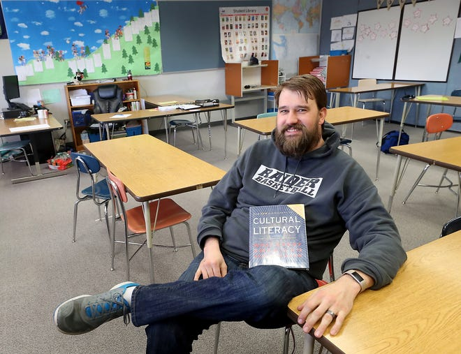 """Ridgetop Middle School teacher Joe Rengstorf will audition for the game show """"Jeopardy!"""" over spring break."""